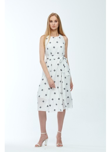 JEANNE D'ARC Elbise Beyaz